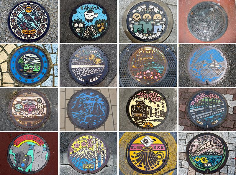 Nắp hố ga nghệ thuật tại Nhật Bản