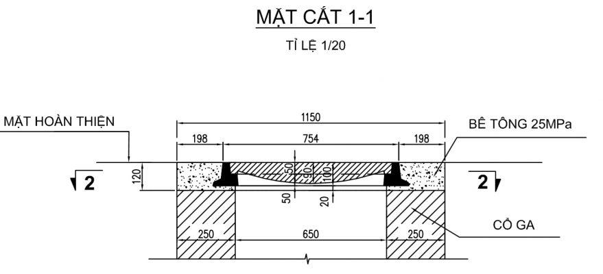 Nắp ga, khung đỡ vật liệu composite đảm bảo theo tiêu chuẩn BS EN124