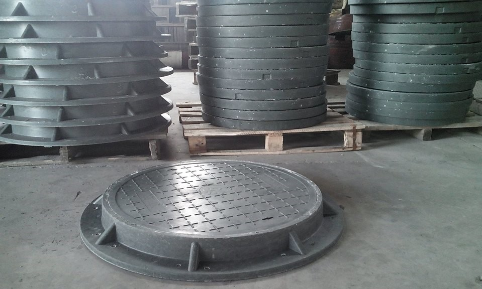 Nắp hố ga composite khung tròn Đại Tín khẳng định chất lượng