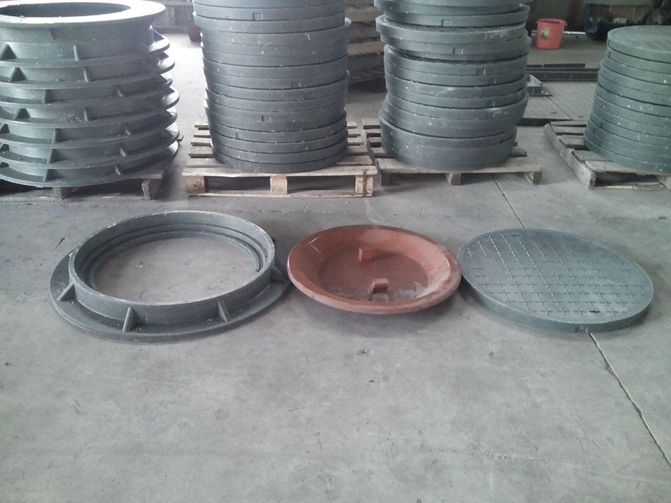 Bộ nắp hố ga composite và khung